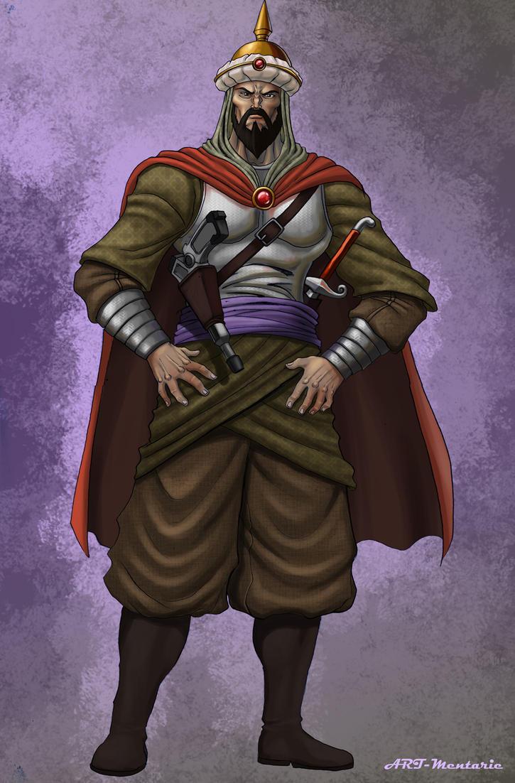 Arabic Warrior by mentarie on DeviantArt