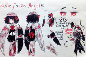 New OC - The Fallen Angel by Nerokothedrawingcat