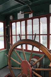 Steam Wheel Paddle Boat Vintage Steering by lonnietaylor