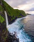 Hidden waterfalls in Hawaii