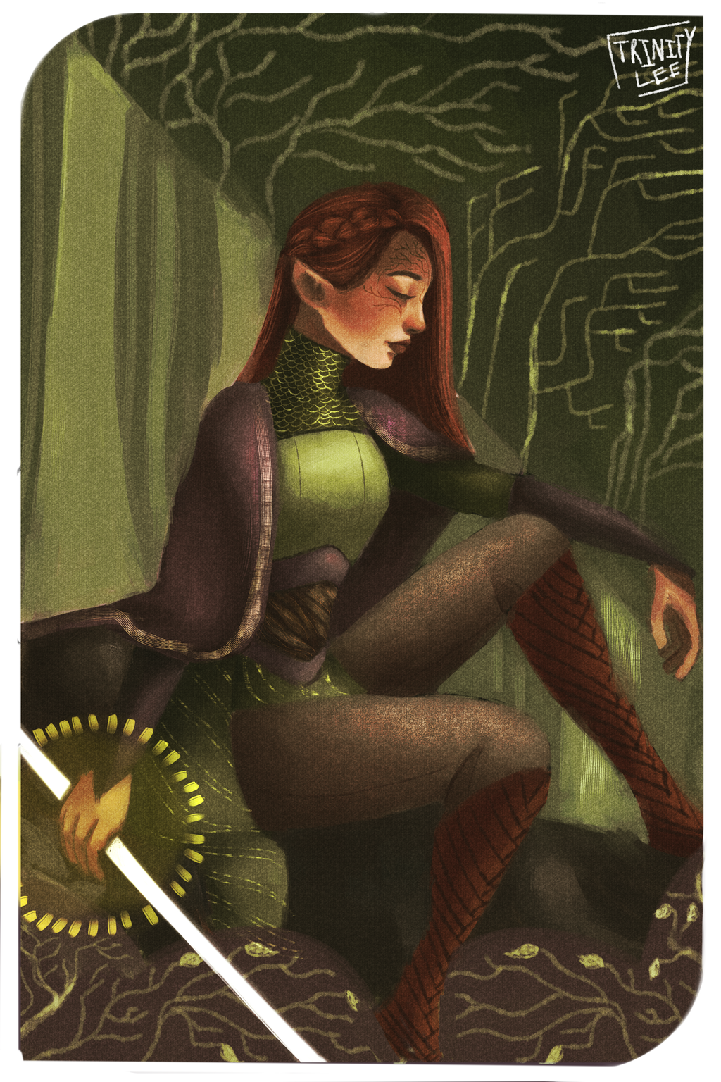 Ace of Wands by itsinfinitytrin