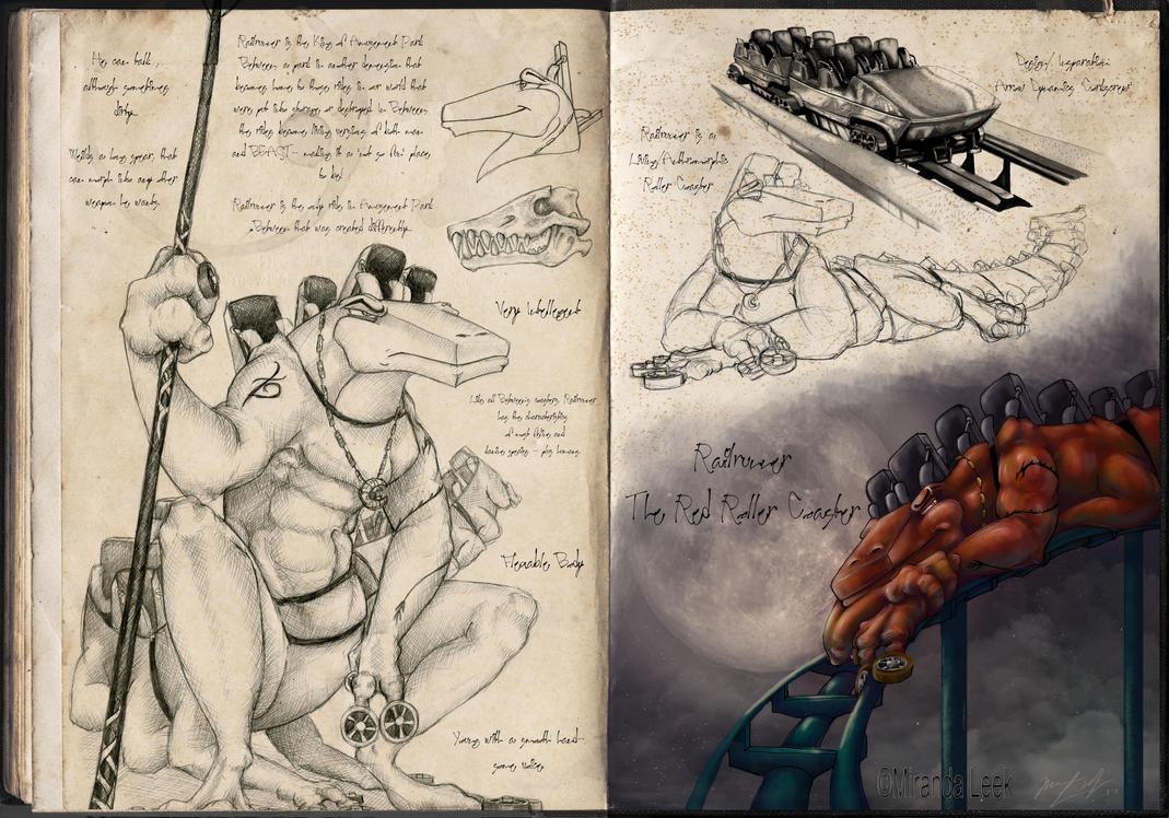 Railrunner Character Development: Page 1 by railrunnermiranda