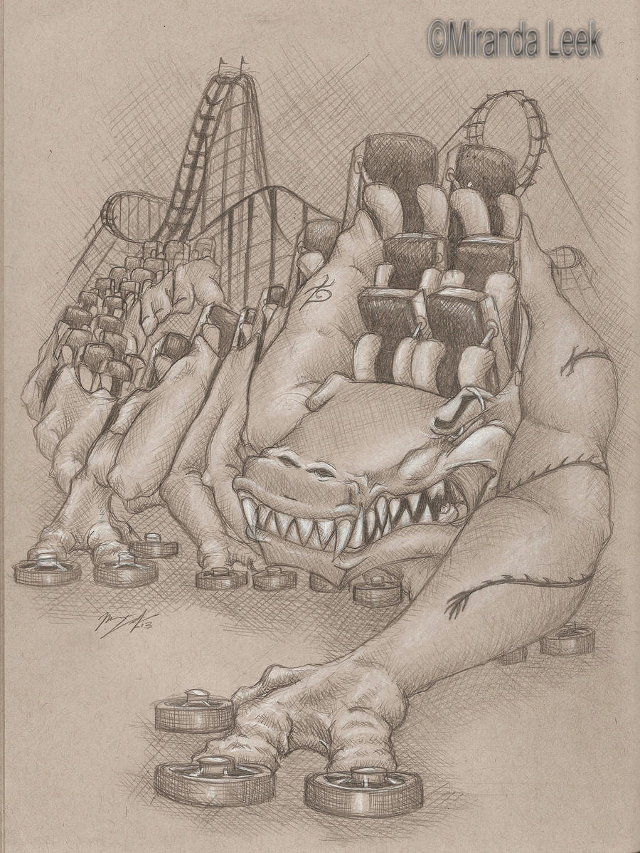 Metal Monster by railrunnermiranda