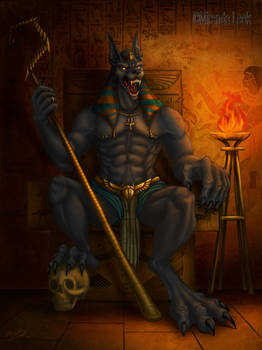 Anubis Lord Of the Dead
