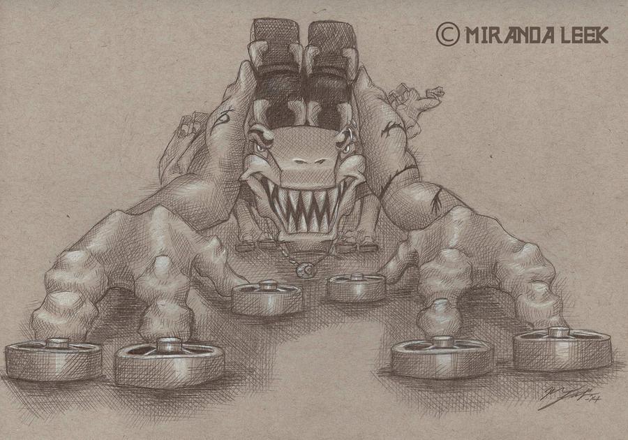 Beast Mode by railrunnermiranda