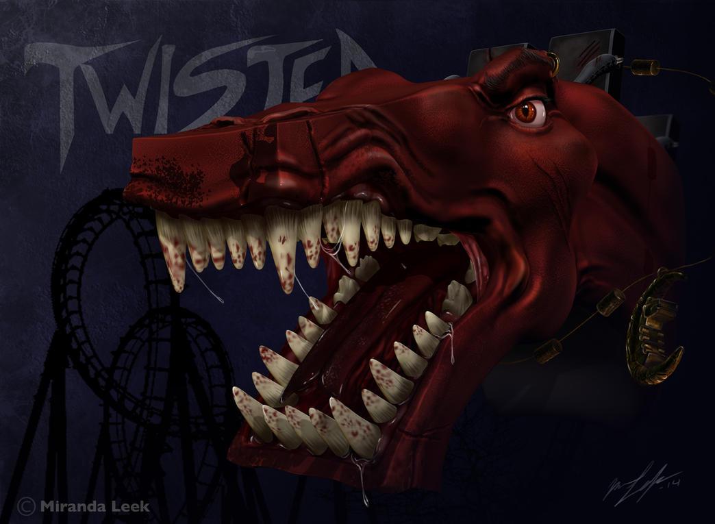 The Metal Monster by railrunnermiranda
