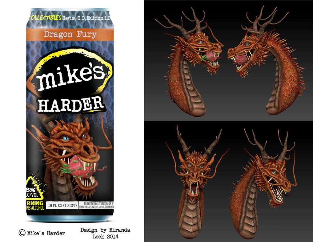 Mike's Harder: Dragon Fury by railrunnermiranda