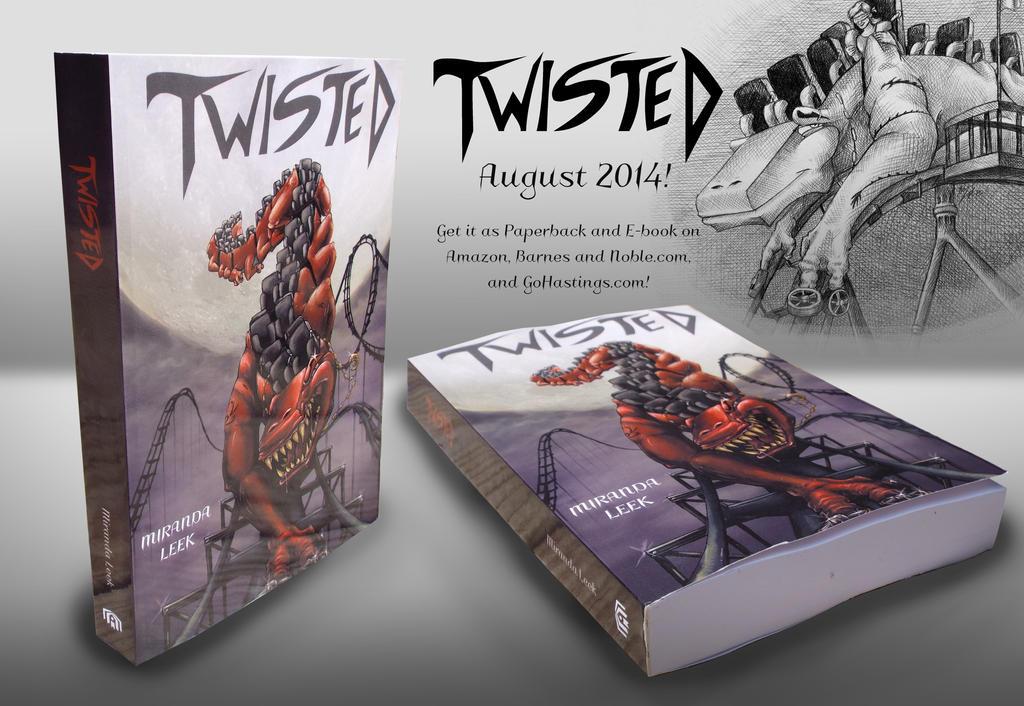 Twisted: The Book by railrunnermiranda