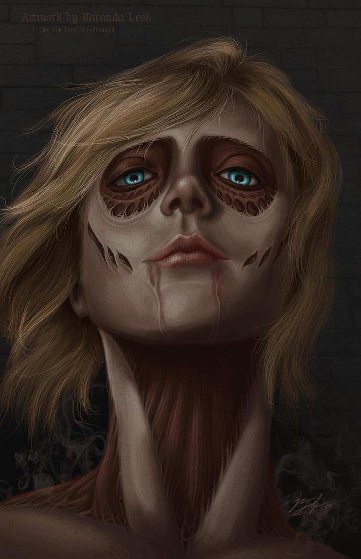 The Female Titan by railrunnermiranda