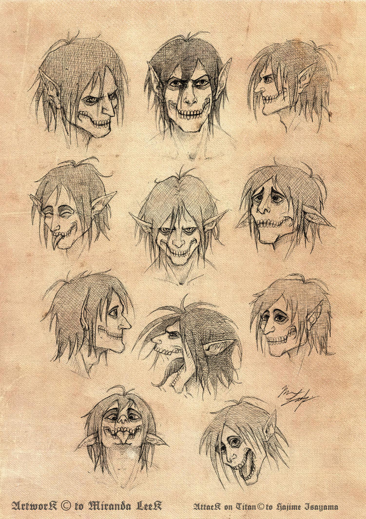 Rogue Titan Studies by railrunnermiranda