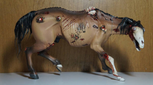 Zombie Equine Sculpture