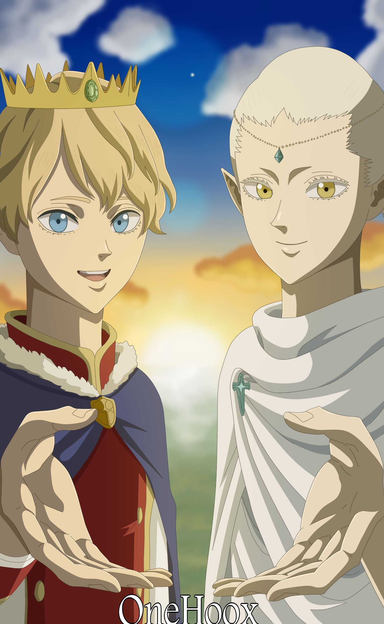 Black Clover Lumiel And Licht By Onehoox On Deviantart Tv anime black clover official site (japanese). black clover lumiel and licht by