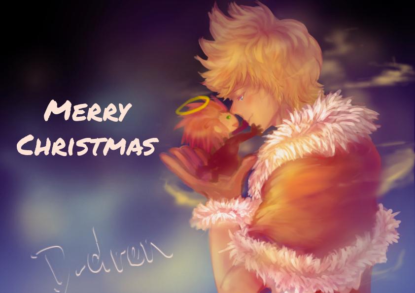 Christmas AkuRoku by myama99bt