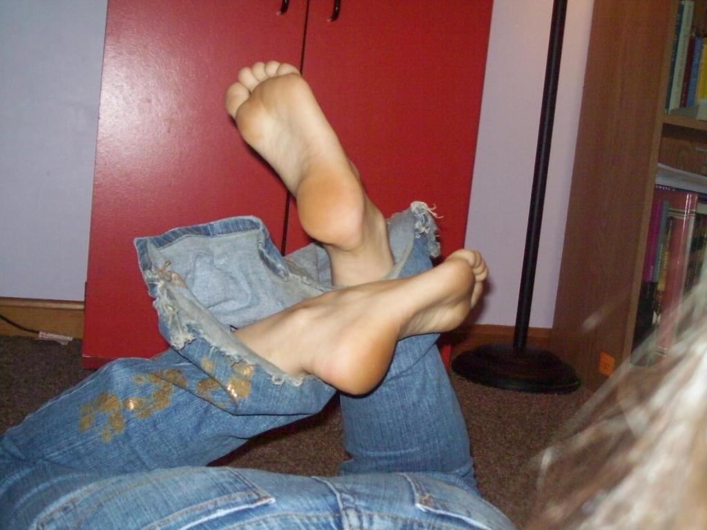 Girl #4 Feet 9 by MrMarmarak