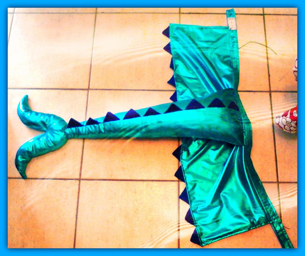 Vaporeon tail+skirt by CissyAphrodite