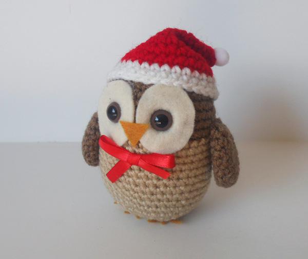 Little Christmas Owl by missdolkapots