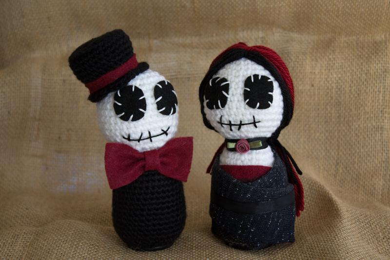 Undead Couple by missdolkapots