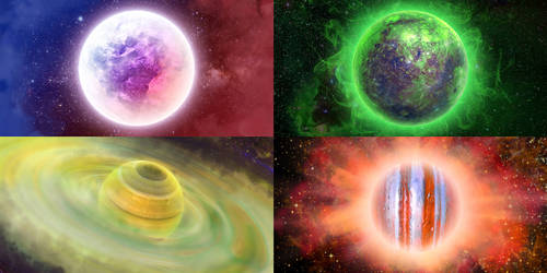 Abstract planets