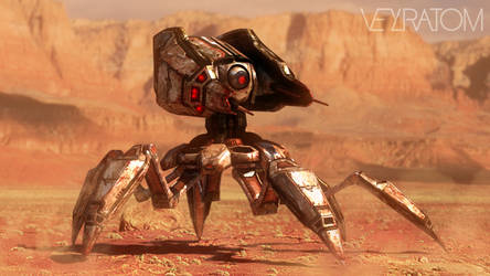 Oculus Mobile Turret by Zairaam