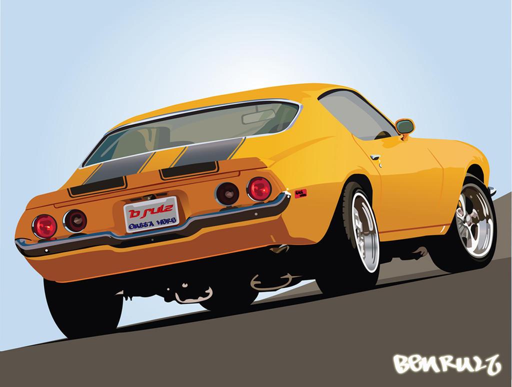 Classic 1970 Camaro... by benrulz