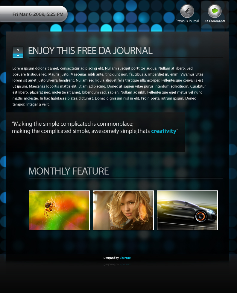 DA Journal Skin by benrulz