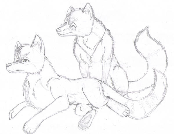 my wolves. by aacrell