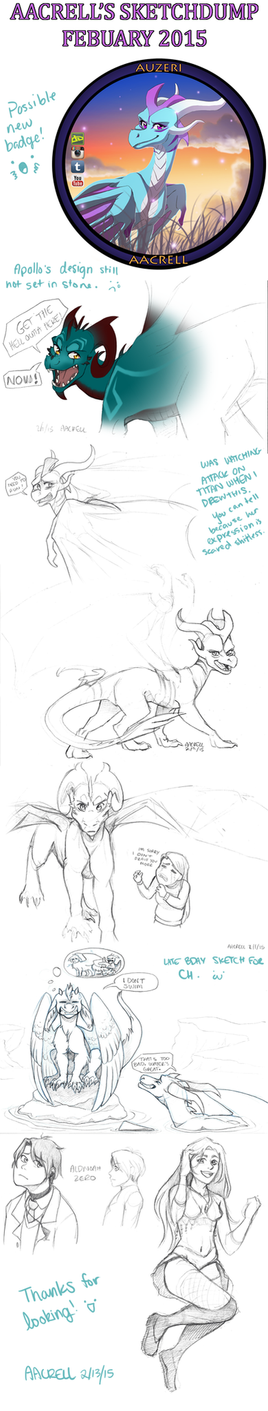 Sketchu Dump by aacrell