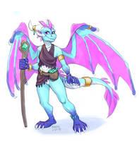 Elder Dragon Auz by aacrell