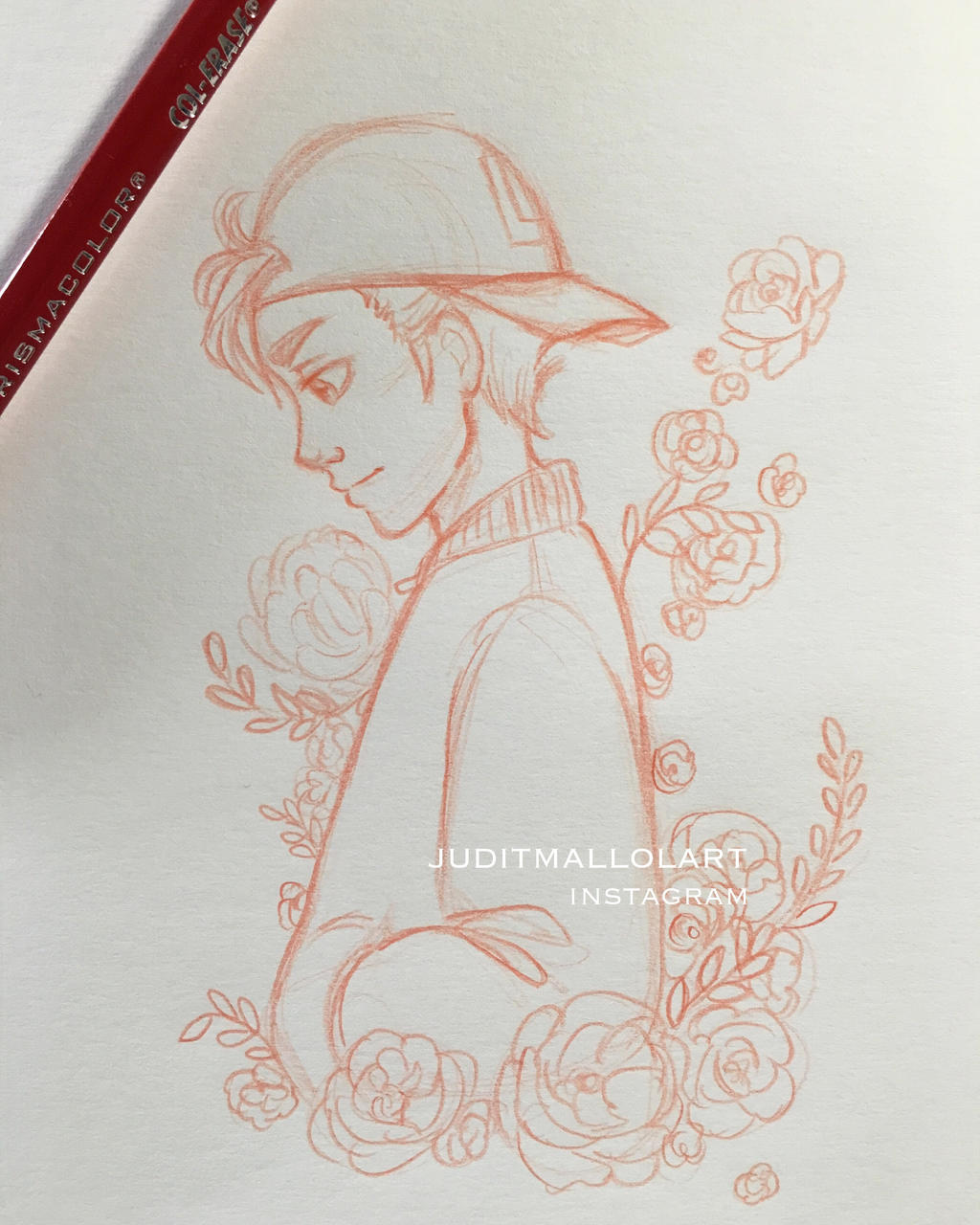 It's just an image of Trust Flower Boy Drawing