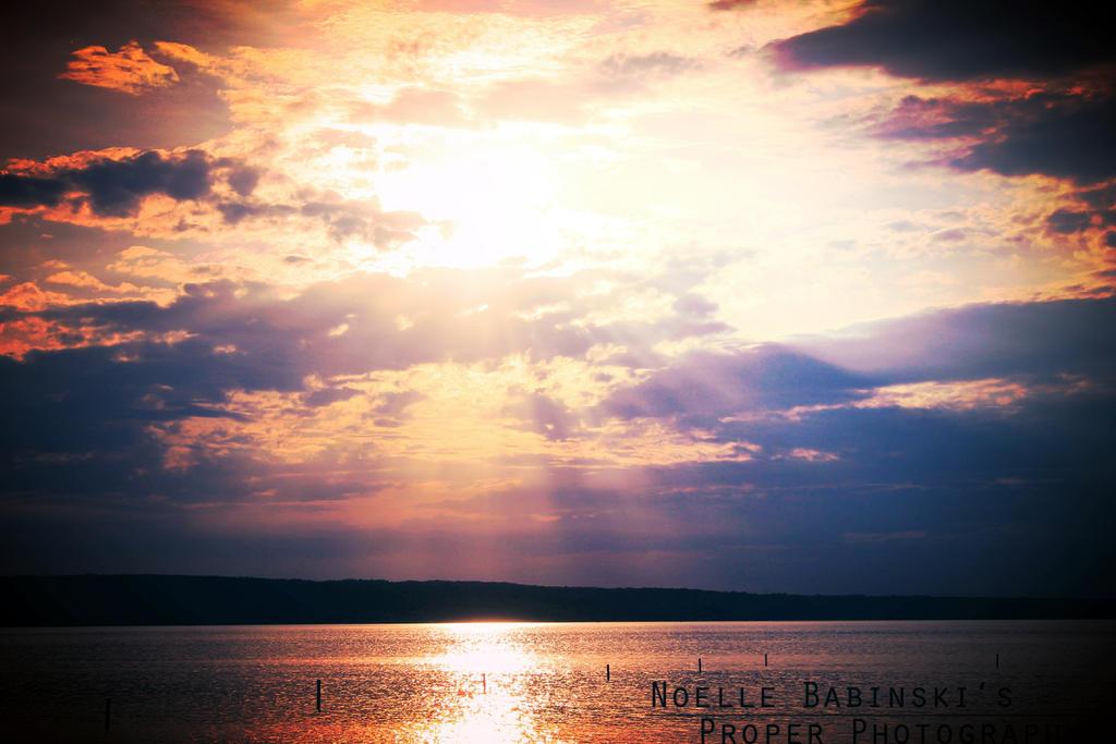Summer Sunset II by NoelleBabinski