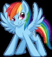 5 - Rainbow Dash by bloodorangepancakes