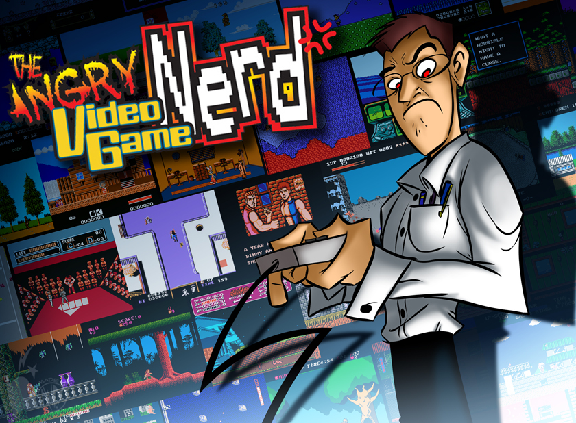 FNM10-Angry Video Game Nerd by AndrewDickman on DeviantArt