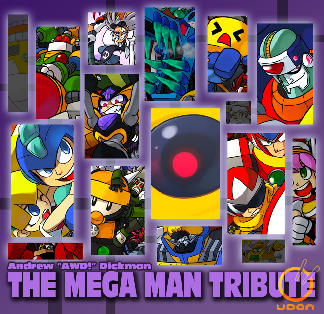 Mega Man Tribute Teaser 2 by AndrewDickman