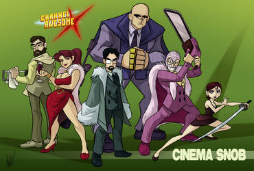 CAX - Cinema Snob by AndrewDickman