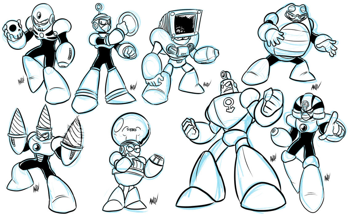 Robot Master-a-thon Results MM4 by AndrewDickman