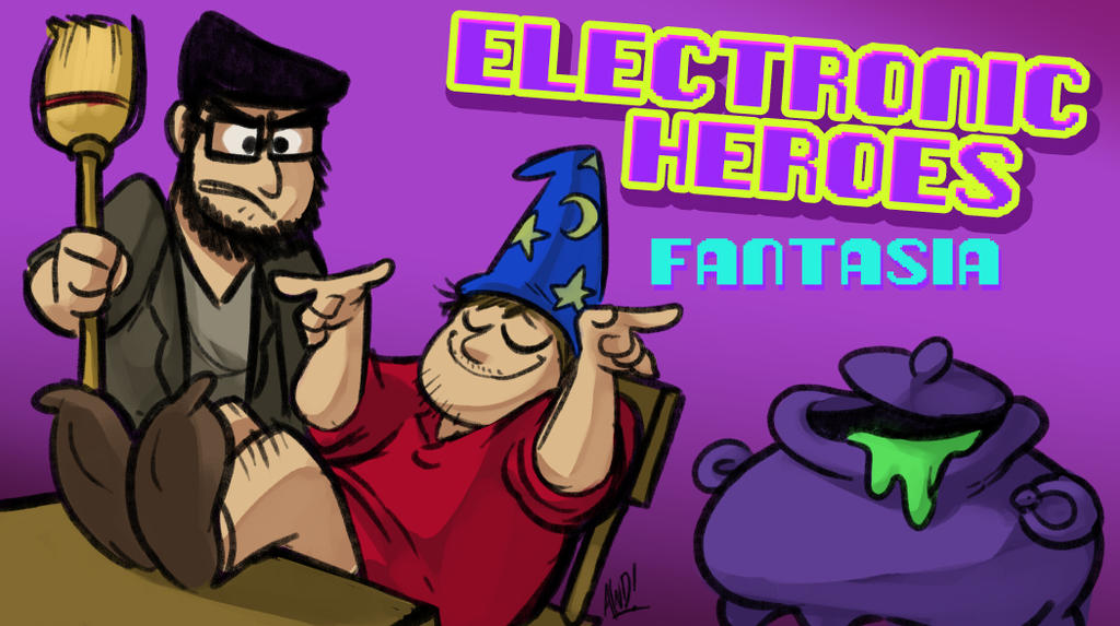 E-Heroes - Fantasia by AndrewDickman