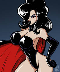 Villain Month 2014 - 014 - Dark Queen