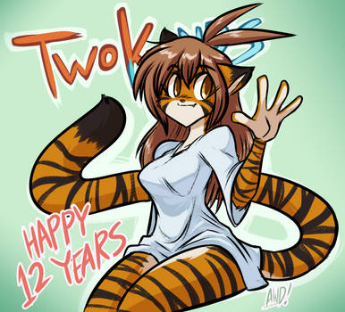Happy 12th Anniversary TwoKinds