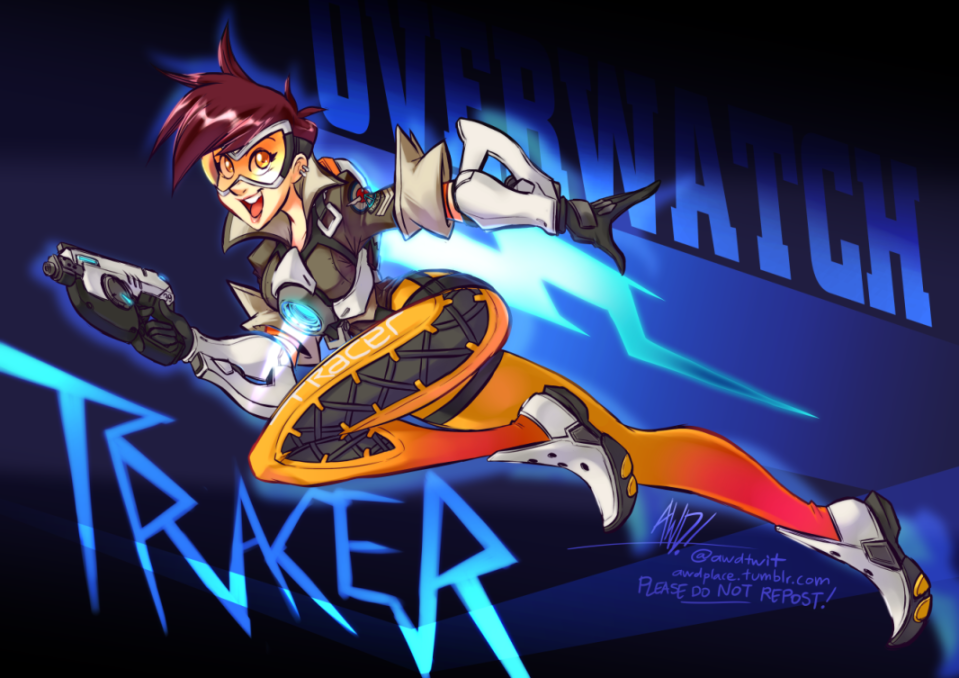 Overwatch Tracer by AndrewDickman