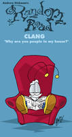 Clang as Himself by AndrewDickman