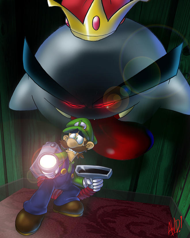 Luigi the Haunted by AndrewDickman