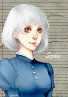 Sophie Hatter fanart [Howl's Moving castle] by matsukichii