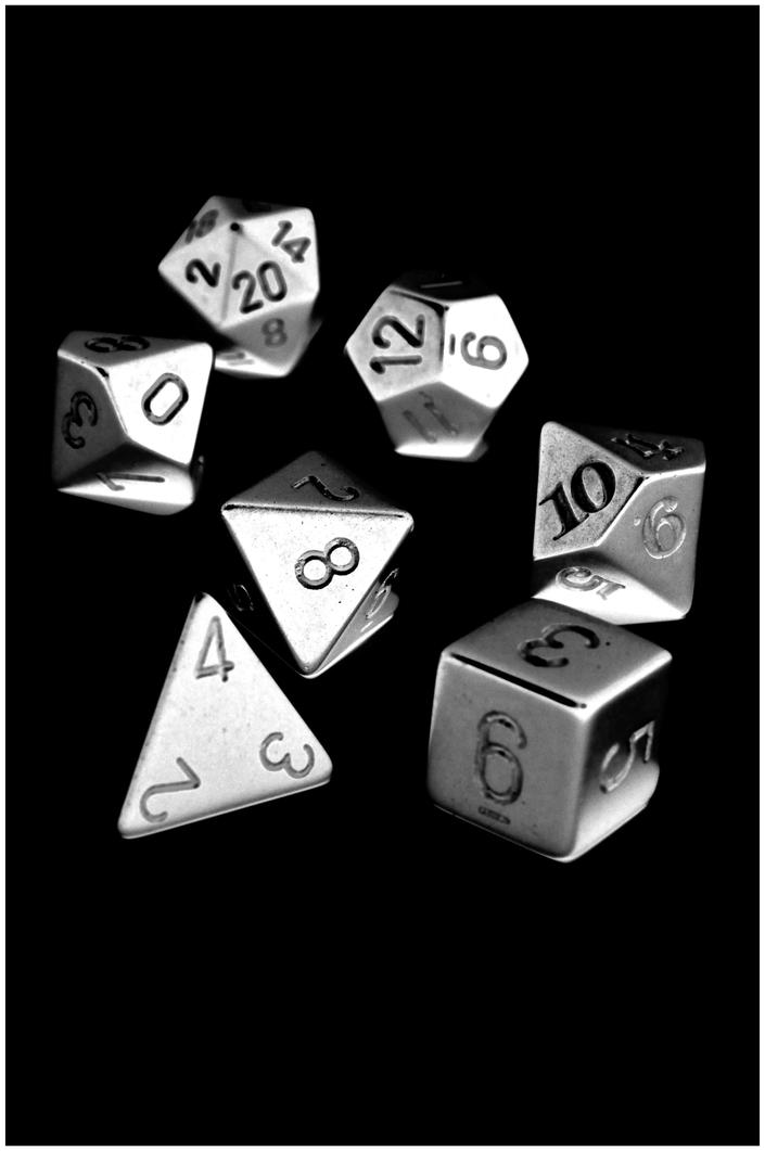 Metal Dice by pedrocairo