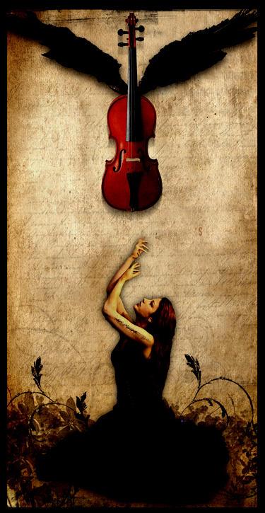 The Runaway Violin by alienor