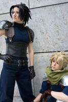 FF7 ZxC - Time to face destiny by Evil-Uke-Sora
