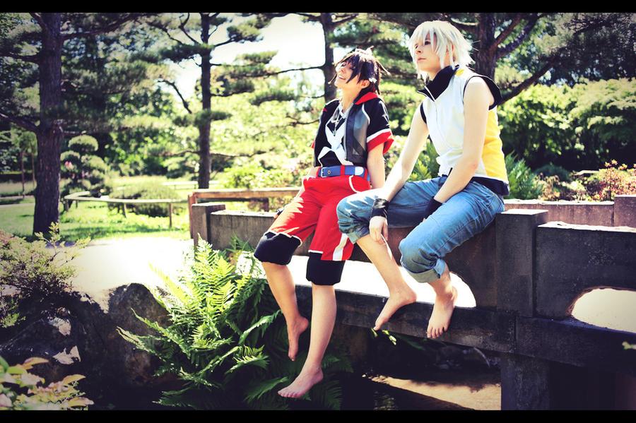 Kingdom Hearts DDD - Right next to you by Evil-Uke-Sora
