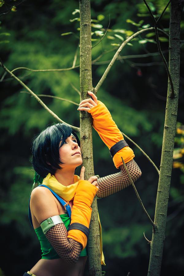 Yuffie: Little Ninja by Evil-Uke-Sora