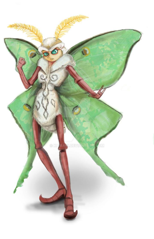 Mera (character design) by kaibaki
