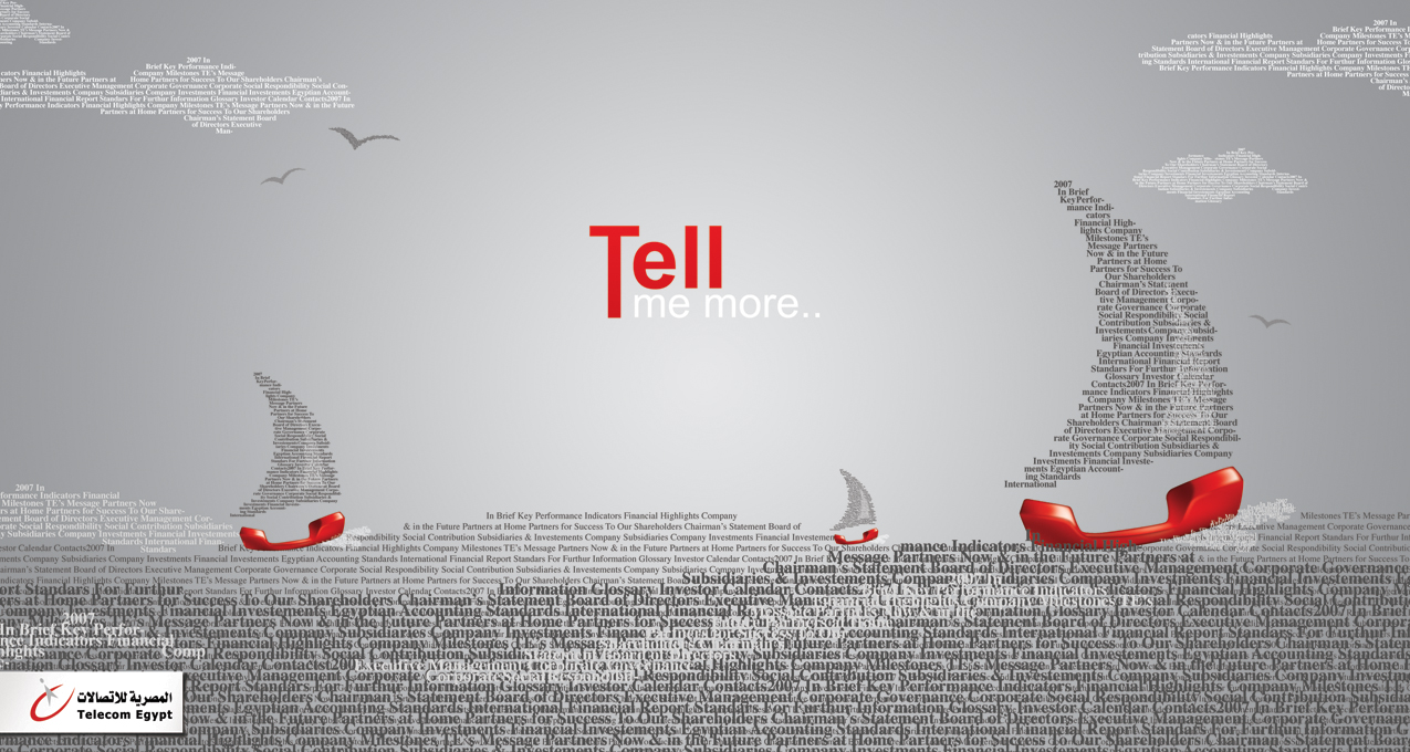 Telecom Egypt - tell me more by ZOSER
