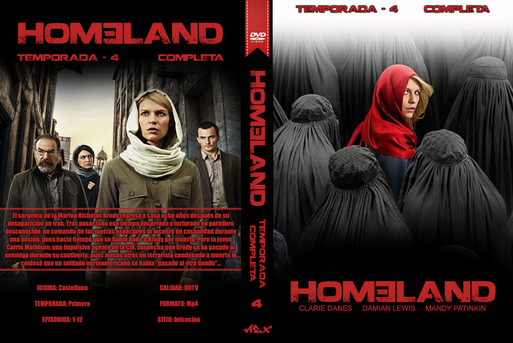 Series id Game of Thrones temporada 4 homeland